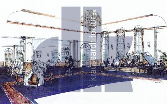 Hotel 5***** Sopot Generalplanung / EU-Wettbewerb -Platz 1