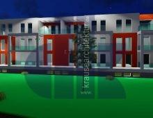 Neubau einer Wohnanlage mit 20 Wohnungen und Tiefgarage Hannover 2021